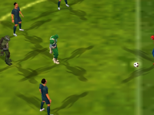 Super Hero Soccer World Cup